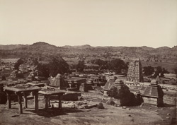 Beejanuggur. General view of ruins. [Vijayanagara.]